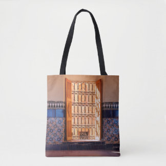 Bolsa Tote Saco projetado oriental