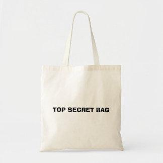 Bolsa Tote Saco que diz o saco extremamente secreto