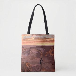 Bolsa Tote Saco rochoso original da paisagem