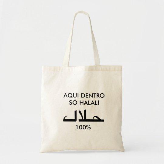 Bolsa Tote Sacola 100% Halal