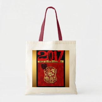 Bolsa Tote Sacola 2017 do costume do ano do galo 2