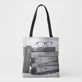 Bolsa Tote Sacola à moda do desenhista do sem-fim de livro