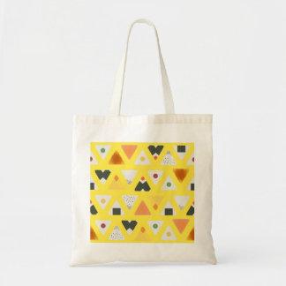 Bolsa Tote Sacola amarela de ONIGIRI