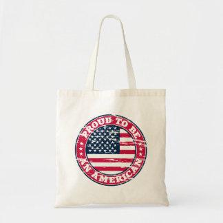 Bolsa Tote Sacola americana orgulhosa