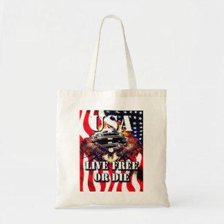 Bolsa Tote Sacola americana patriótica