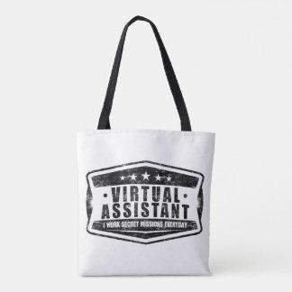 Bolsa Tote Sacola assistente virtual