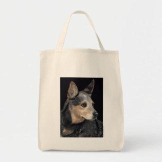 """Bolsa Tote Sacola australiana do cão do gado - """"Quigley """""""