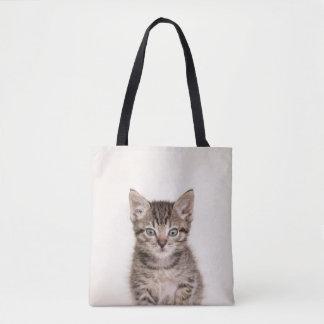 Bolsa Tote Sacola bonito do gatinho