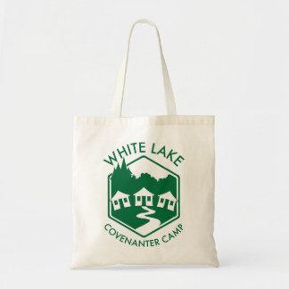 Bolsa Tote Sacola branca do lago