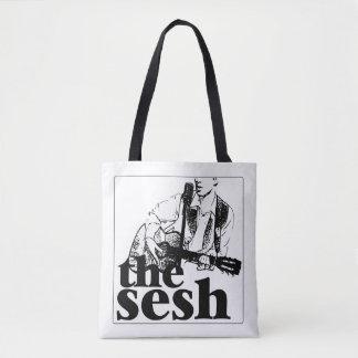 "Bolsa Tote ""sacola branca do sesh"""