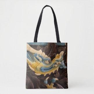 Bolsa Tote Sacola chinesa do dragão