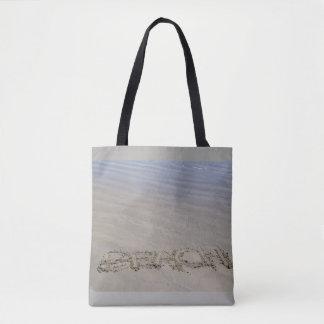 Bolsa Tote Sacola clara do Sandy Beach