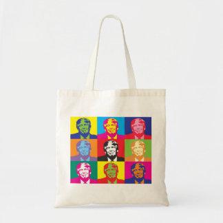 Bolsa Tote Sacola colorida de Donald Trump