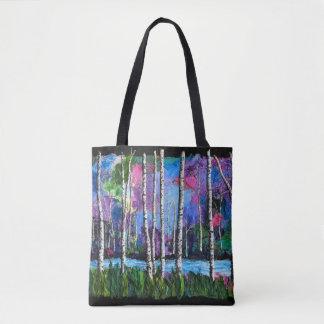 Bolsa Tote Sacola colorida e artística!