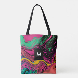 Bolsa Tote Sacola colorida legal na moda