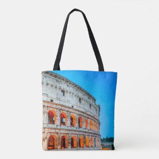 Bolsa Tote Sacola Colosseum do impressão do costume toda