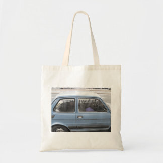 Bolsa Tote Sacola com carro azul