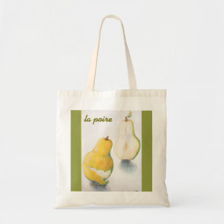 Bolsa Tote Sacola com design da pera