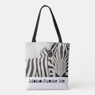 Bolsa Tote Sacola com design da zebra