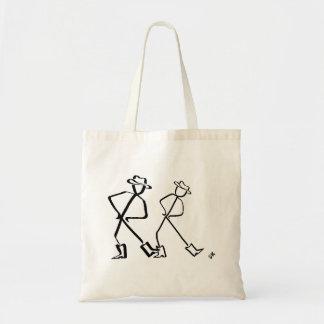 Bolsa Tote Sacola com dois linha dançarinos