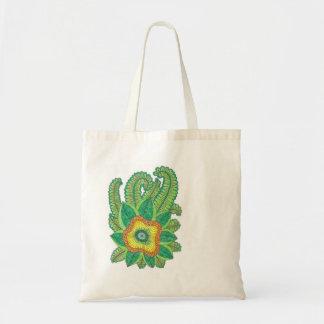 Bolsa Tote Sacola com flores
