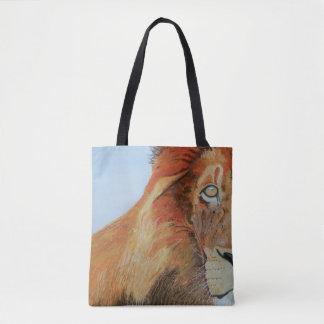 Bolsa Tote Sacola com imagem do leão
