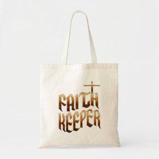 Bolsa Tote Sacola cristã do orçamento do depositário da fé