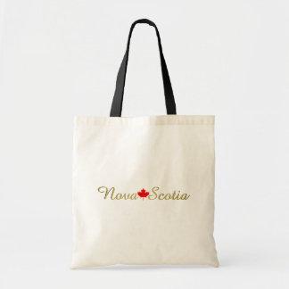 Bolsa Tote Sacola customizável de Nova Escócia Canadá do amor