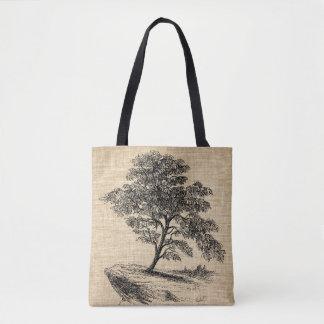 Bolsa Tote Sacola da árvore de figo