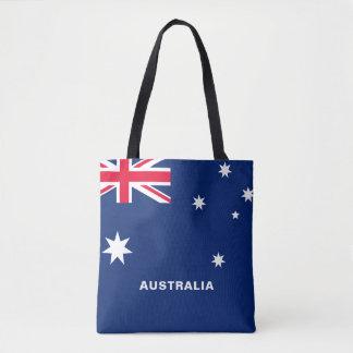 Bolsa Tote Sacola da bandeira de Austrália