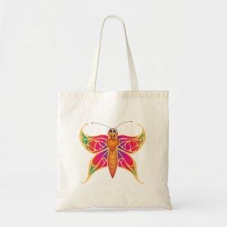"""Bolsa Tote """"Sacola da borboleta do selo pequeno do amor do"""