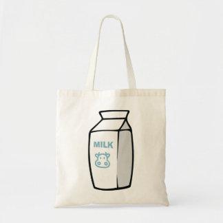 Bolsa Tote Sacola da caixa do leite