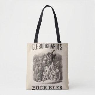 Bolsa Tote sacola da cerveja de cerveja preta forte 2