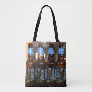 Bolsa Tote Sacola da cerveja por todo o lado no saco