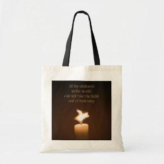 Bolsa Tote Sacola da chama de vela do porco do vôo