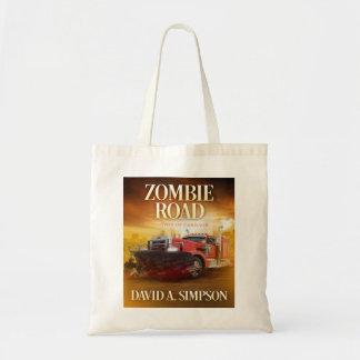 Bolsa Tote Sacola da estrada do zombi