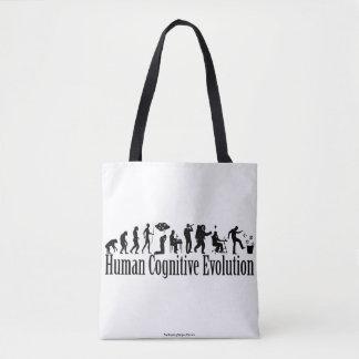 Bolsa Tote Sacola da evolução de Darwin