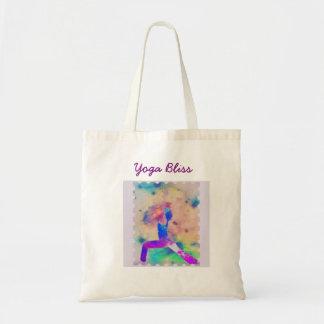 Bolsa Tote Sacola da felicidade da ioga