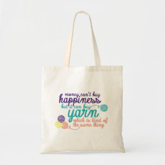 Bolsa Tote Sacola da felicidade do fio