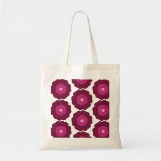 Bolsa Tote Sacola da flor - rosa