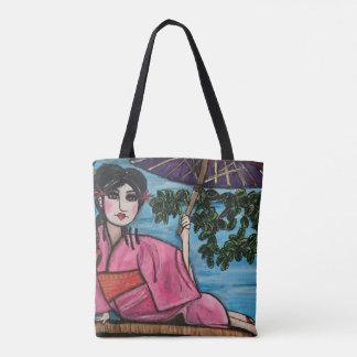 Bolsa Tote Sacola da gueixa (customizável)