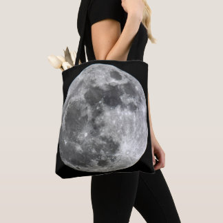 Bolsa Tote Sacola da lua de Supermoon