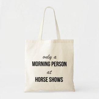 Bolsa Tote Sacola da mostra do cavalo