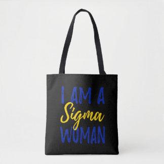 Bolsa Tote Sacola da mulher do Sigma