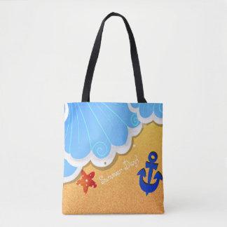 Bolsa Tote Sacola da praia do verão