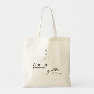 Bolsa Tote Sacola da princesa Orçamento do guerreiro