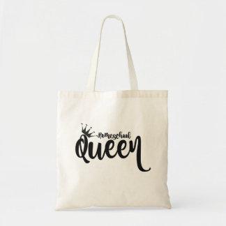 Bolsa Tote Sacola da rainha de Homeschool
