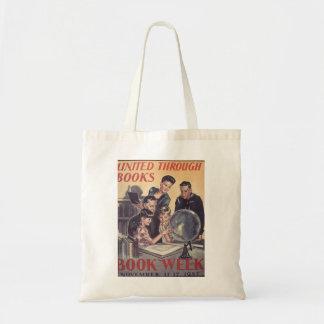 Bolsa Tote Sacola da semana de livro de 1945 crianças