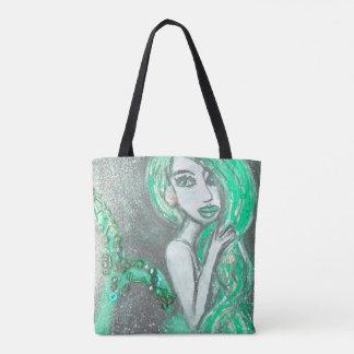 Bolsa Tote Sacola da sereia (customizável)