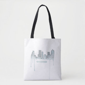 Bolsa Tote Sacola da skyline de Atlanta